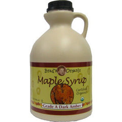 BRAD'S ORGANIC MAPLE SYRUP