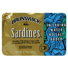 BRUNSWICK SARDINE IN WATER
