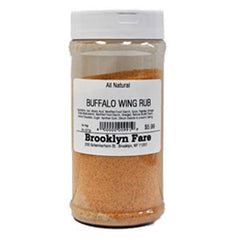BROOKLYN FARE ALL NATURAL BUFFALO WING RUB