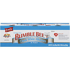 BUMBLE BEE SOLID WHITE ALBACORE IN VEGETABLE OIL 3 PACK
