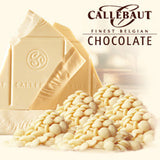 CALLEBAUT CHOCOLATE - WHITE CHOCOLATE