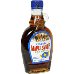 CARY'S PREMIUM MAPLE SYRUP GRADE A DARK AMBER