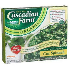 CASCADIAN FARM CUT SPINACH
