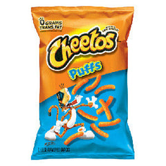 CHEETOS PUFFS CHEESE FLAVORED SNACKS