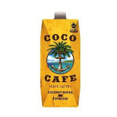 COCO CAFE CAFE LATTE COCONUT WATER
