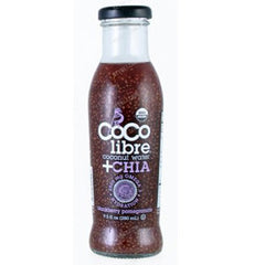 COCO LIBRE + CHIA BLACKBERRY POMEGRANATE COCONUT WATER