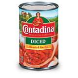 CONTADINA ROASTED GARLIC DICED TOMATOES