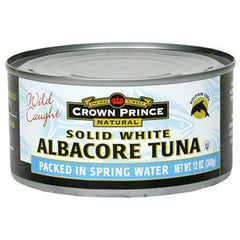 SOLID WHITE ALBACORE TUNA IN WATER