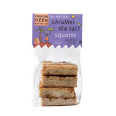 DANCING DEER   CARAMEL SEA SALT SQUARES
