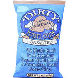 DIRTY UNSALTED POTATO CHIPS