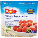 DOLE WHOLE STRAWBERRIES - FROZEN