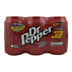 DR PEPPER ORIGINAL SODA - 6 PACK CANS