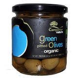 CAMPOMAR NATURE ORGANIC GREEN PITTED OLIVES
