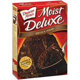 DUNCAN HINES MOIST DELUXE DEVILS FOOD CAKE MIX