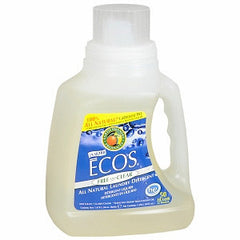 EARTH FRIENDLY ECOS FREE & CLEAR LAUNDRY DETERGENT