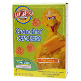 EARTH'S BEST ORGANIC CRUNCHIN' CHEDDAR CRACKERS