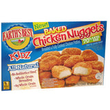 EARTH'S BEST   KIDZ  ALL NATURAL BAKED CHICKEN NUGGETS 70% LESS FAT