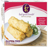 FEEL GOOD FOODS GLUTEN FREE CHICKEN AND VEGETABLE EGG ROLLS
