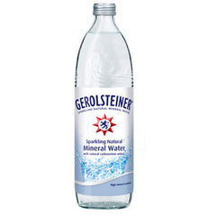 GEROLSTEINER MINERAL WATER - GLASS BOTTLE