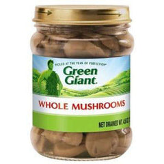 GREEN GIANT WHOLE MUSHROOMS