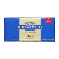 GHIRARDELLI CLASSIC WHITE MILK CHOCOLATE BAKING BAR