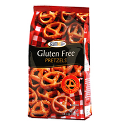 GLUTINO GLUTEN FREE PRETZEL NO SALT ADDED