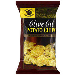 GOOD HEALTH GARLIC OLIVE OIL POTATO CHIPS
