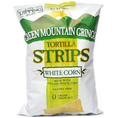 GREEN MOUNTAIN  GRINGO ORGANIC WHITE CORN TORTILLA STRIPS