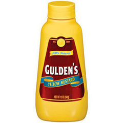 GULDEN'S YELLOW MUSTARD