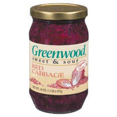 GREENWOOD SWEET & SOUR RED CABBAGE