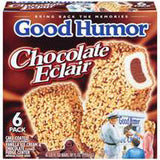 GOOD HUMOR CHOCOLATE ECLAIR ICE CREAM BARS