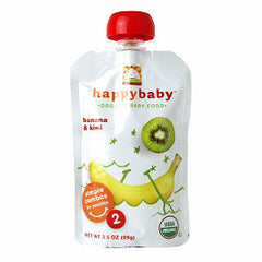HAPPY BABY ORGANIC BABY FOOD STAGE 2 APPLE & CHERRY