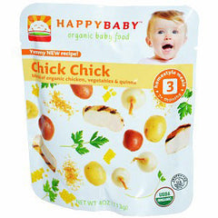 HAPPYBABY #3 ORGANIC CHICK CHICK BABY FOOD