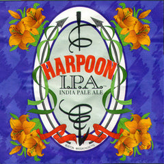 HARPOON INDIA PALE ALE BEER - 12 PACK - 12 FL OZ CANS