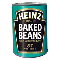 HEINZ BAKED BEANS WITH TOMATO SAUCE