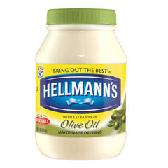 HELLMANN'S WITH EXTRA VIRGIN OLIVE OIL MAYONNAISE