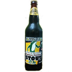 HOPPING FROG OATNEAL IMPERIAL STOUT BEER - SINGLE BOTTLE