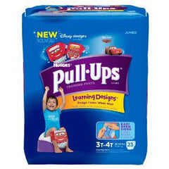 HUGGIES PULL-UPS TRAINING PANTS FOR BOYS 3T-4T
