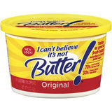 I CAN'T BELIEVE IT'S NOT BUTTER MARGARINE ORIGINAL BUTTER