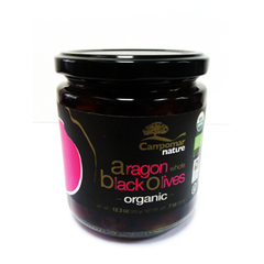 ARONGON ORGANIC WHOLE BLACK OLIVES