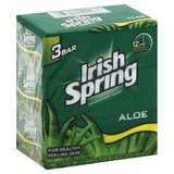 IRISH SPRING WITH ALOE VERA SOAP BAR 8 PACK