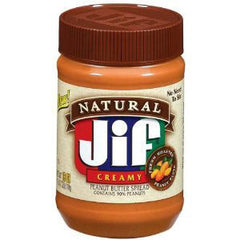 JIF NATURAL CREAMY PEANUT BUTTER