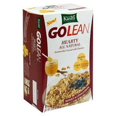 KASHI GOLEAN HEARTY ALL NATURAL HONEY & CINNAMON INSTAN HOT CEREAL