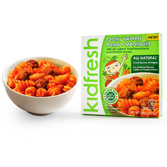 KIDFRESH TOTALLY TWISTED PASTA + MEATBALLS - ALL NATURAL