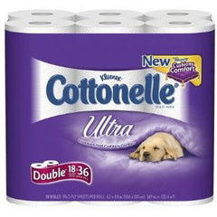 KLEENEX COTTONELLE ULTRA DOUBLE 12 PACK
