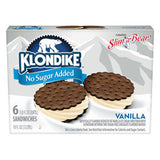 KLONDIKE NO SUGAR ADDED VANILLA SANDWICH