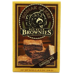 KODIAK CAKES BIG BEAR BROWNIES ALL NATURAL DOUBLE CHOCOLATE CHUNK