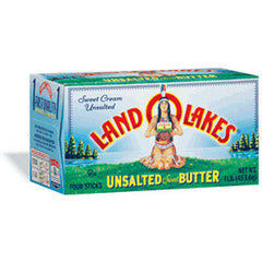 LAND O LAKES UNSAKTE SWEET BUTTER HALF STICKS