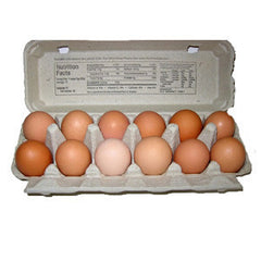 ECOMEAL ORGANIC LARGE BROWN EGGS