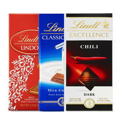 LINDT EXCELLENCE EXTRA CREAMY MILK CHOCOLATE BAR
